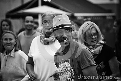 Grayscale Photo Of People Free Public Domain Cc0 Image