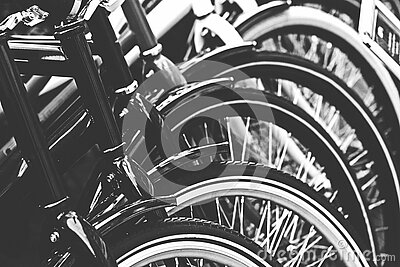 Grayscale Photography Of Bicycle Free Public Domain Cc0 Image