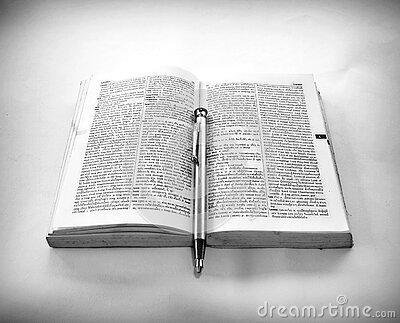 Grayscale Photography Of Click Pen On Top Of Opened Book Free Public Domain Cc0 Image