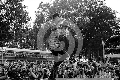 Grayscale Photography On Concert Free Public Domain Cc0 Image