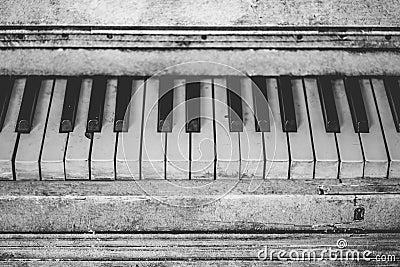 Grayscale Piano Keys Free Public Domain Cc0 Image