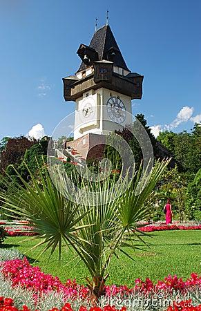 Free Graz - Uhrturm Royalty Free Stock Images - 7968839