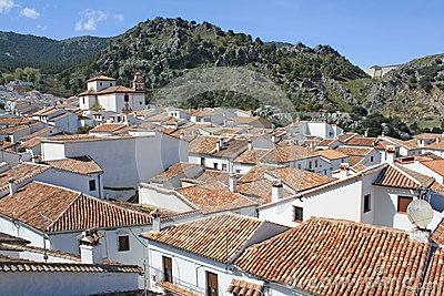 Grazalema village.