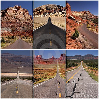 Great american roads