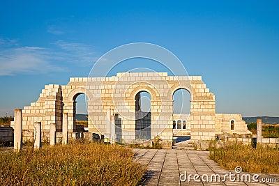 The Great Basilica at Pliska