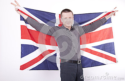 Great Britain fan