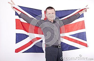Great Britain fan