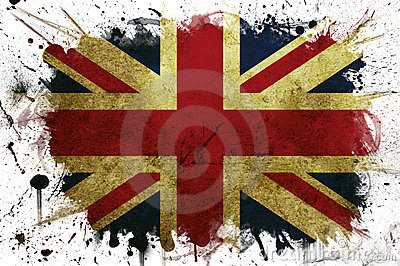 Great Britain flag paint