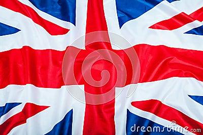 Great Britain United Kingdom flag Stock Photo