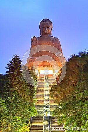 Great Buddha, landmark in Hong Kong