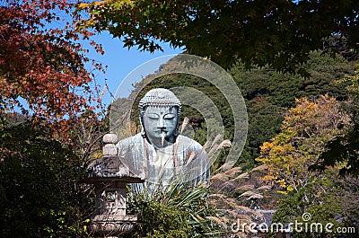 Great Buddha statue in Kamakura