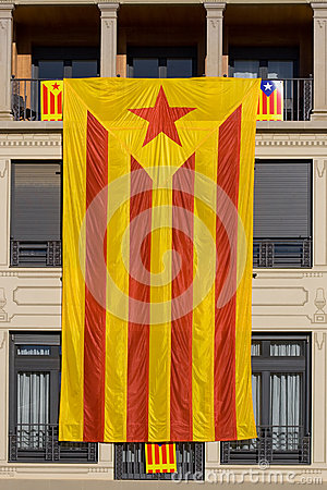 Great Catalan independentist flag