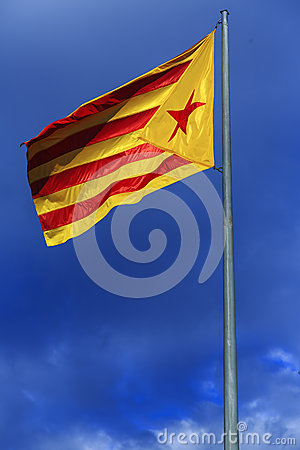 Catalan independentist flag