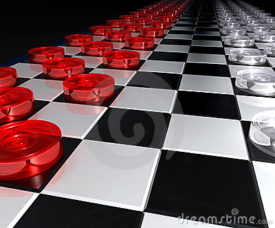 Great checkers battle