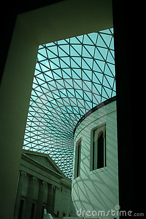The Great Court, British Museum Interior Editorial Photography
