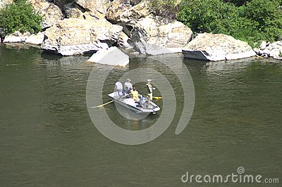 A great day for fishing Editorial Stock Image