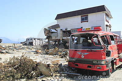 The Great East Japan Earthquake Editorial Image