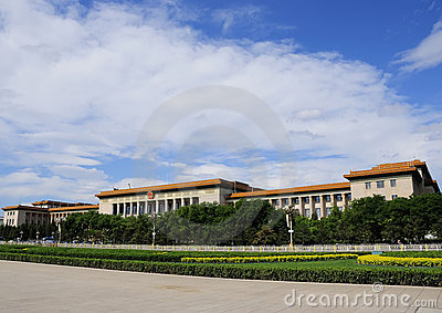 The Great Hall Of The People Royalty Free Stock Photo - Image: 20019365