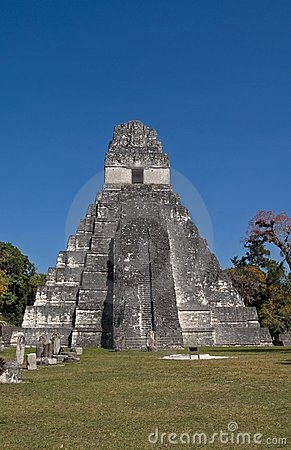 Great Jaguar Temple (Temple I) in Tikal Peten