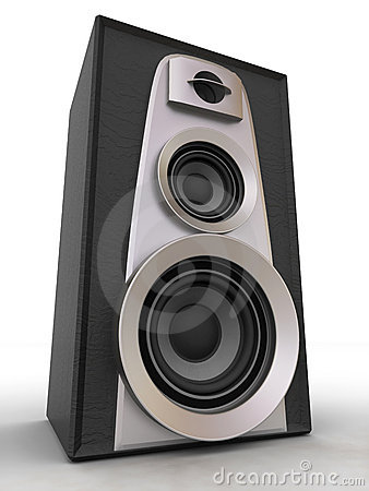 Free Great Loud Speakers Royalty Free Stock Photography - 6525637