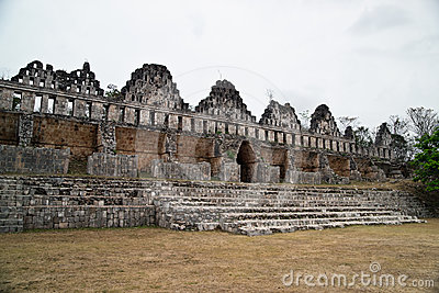 The great mayan city of Uxmal