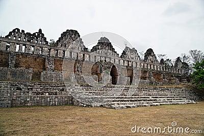 The great mayan city of Uxmal