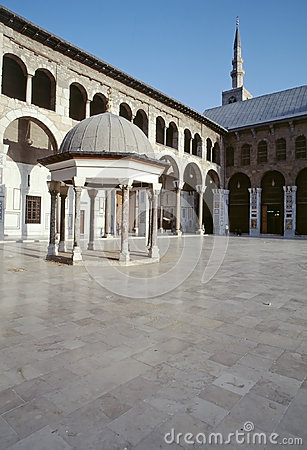 Great Mosque of Damascus Editorial Image