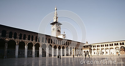 Great Mosque of Damascus Editorial Photography