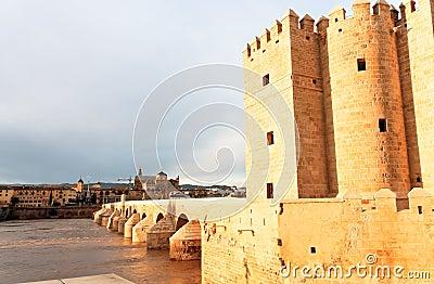 The Great Mosque and Roman Bridge, Cordoba, Spain
