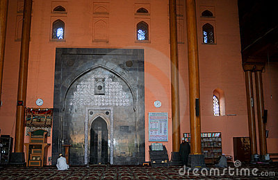 Great Mosque, Srinagar, Kashmir, India Editorial Stock Photo