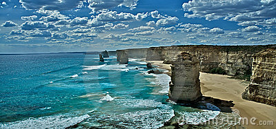 Great ocean road and the twelve apostles Melbourne