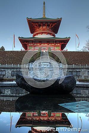 Great Pagoda (Daito) at Narita-san Temple, Japan