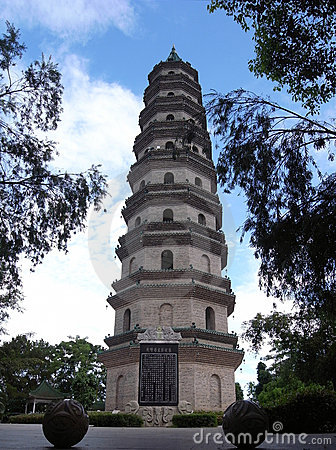 Great Pagoda in Nanning, China