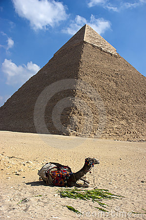 Great Pyramid Cheops Giza Cairo Egypt Ancient