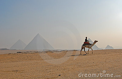Great Pyramid of Giza, Egypt Editorial Stock Photo