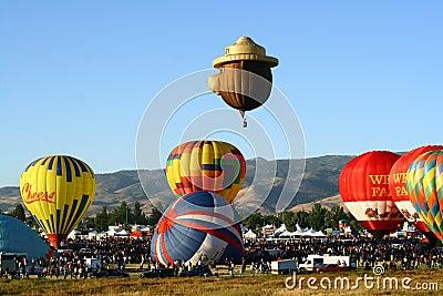 Great Reno Balloon Race Editorial Photography