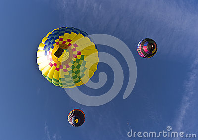 The Great Reno Balloon Race, from below