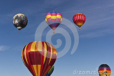 The Great Reno Balloon Race, Mass Ascension