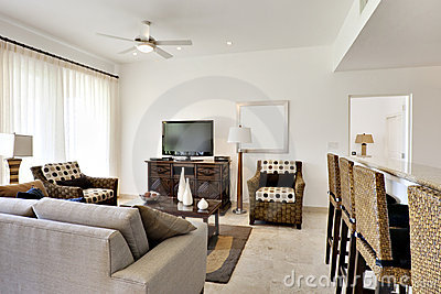 Great Room of Condominium