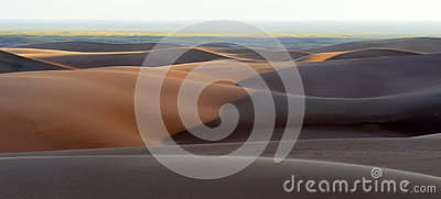 Great Sand Dunes Panorama