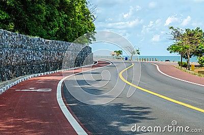 Great sea curve road
