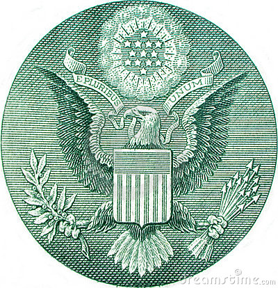 Free Great Seal Of United States Stock Photography - 8265492