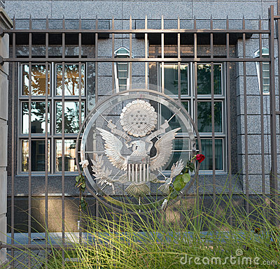 Great Seal of the United States Editorial Photography