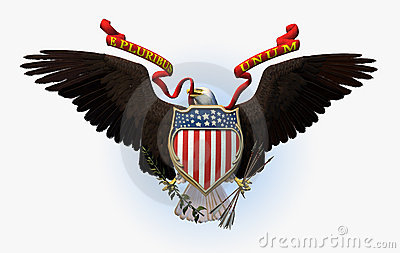 Great Seal of the USA - includes clipping path