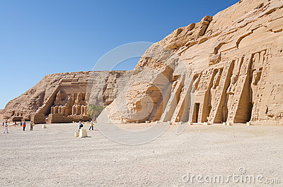 The Great and Small Temple of Abu Simbel, Egypt