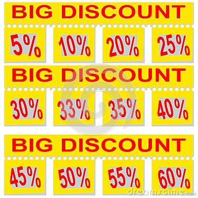 Great special discount percentage on perforated paper