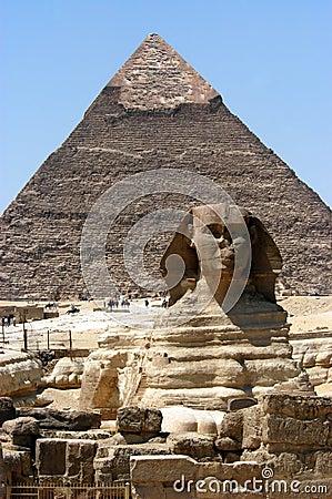 Great sphinx in Cairo