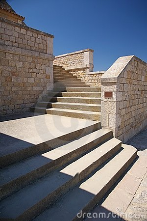 Great stone stairs