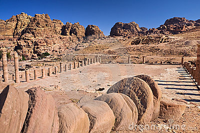 The Great Temple in Petra