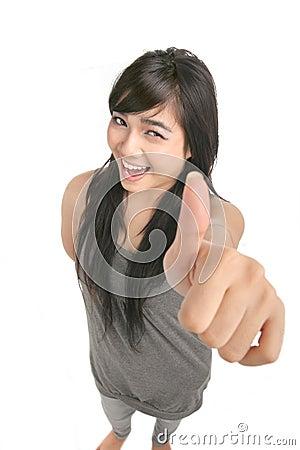 Great thumb up